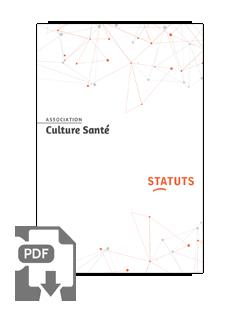 Statuts Association Culture Santé